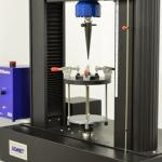 Dual column machine puncture test setup