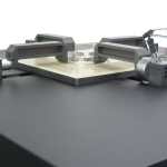 Planar biaxial testing system, ideal for testing tissue and other biologic samples