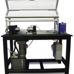 Torsion tester with cage