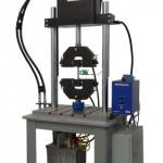 eXpert 1900 fatigue system testing metal sample