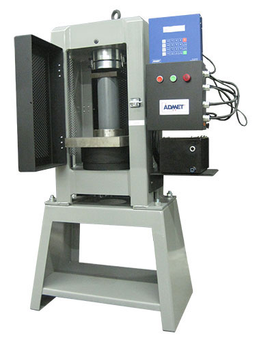 ASTM C39 Testing with MegaForce Concrete Tester