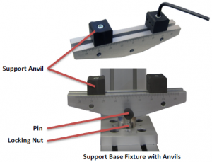 Bend Fixture Setup with Anvils