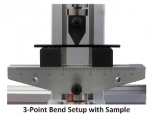Bend Sample Setup 3-point