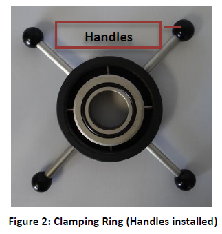 ASTM F1306 Puncture Fixture Setup Figure 2