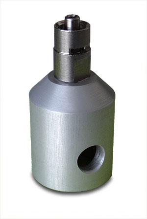 custom luer lock test fixture
