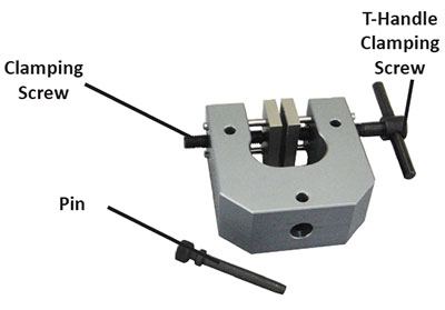 manual vise grip for tensile testing