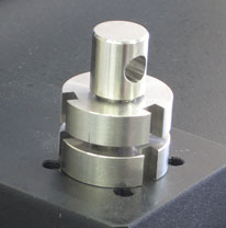 male end adapter for tensile testing grips