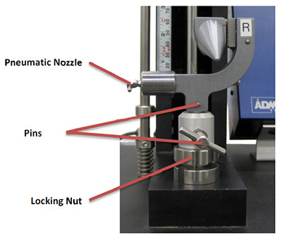 pneumatic thread grips for tensile testing