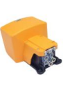 Foot pedal for operating pneumatic grips