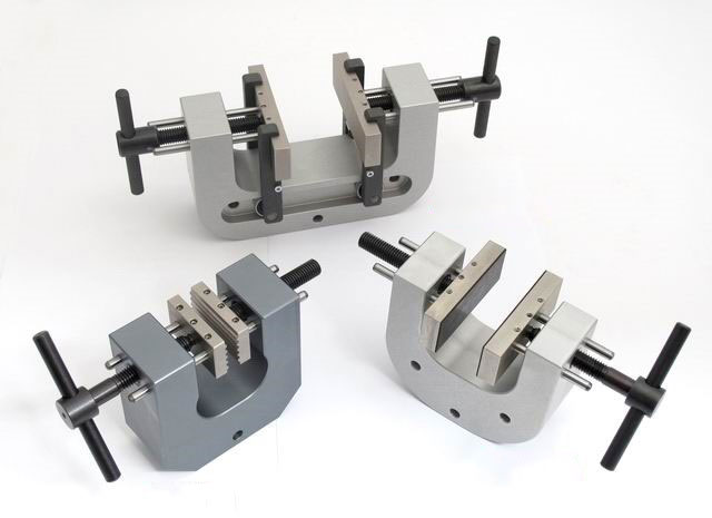 Manual vise grips from left to right: GV-5T, GV-5T-S100, and GV-5T-S50