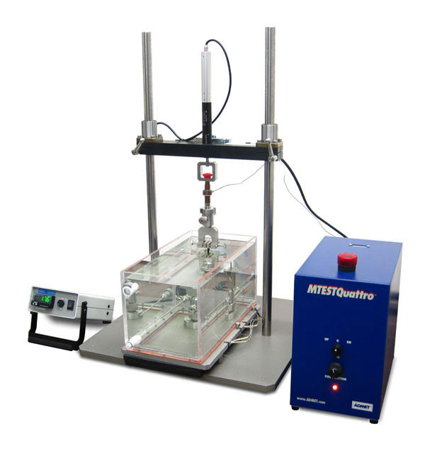 Viscoelasticity Testing & Equipment eXpert-4000-Series-equipped-with-a-saline-bath-and-MTESTQuattro-Controller