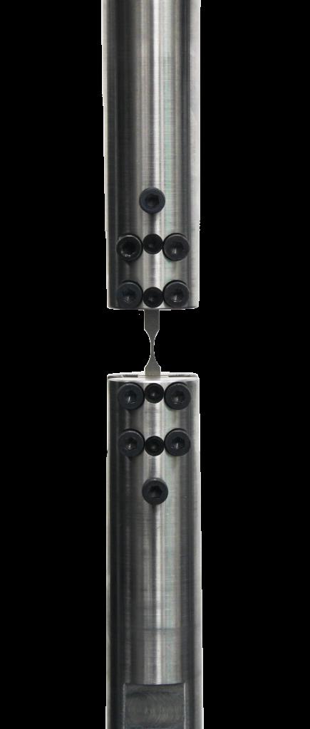 fatigue alignment grips for small specimens